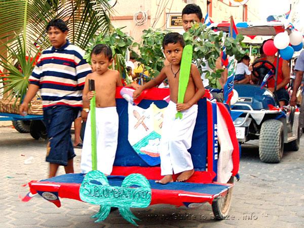 Children Participating in a Parade