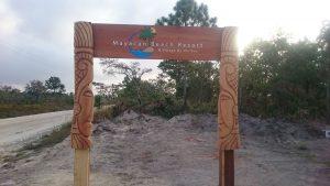Mayacan Beach Resort Entrance